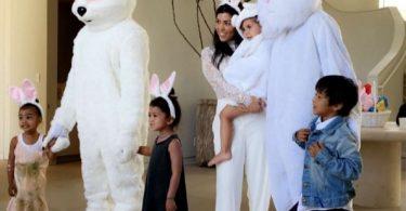 Kanye and Tyga Easter Bunny