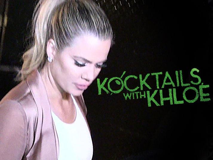 Klhoe Pulls Plug On Kocktails with Khloe this week