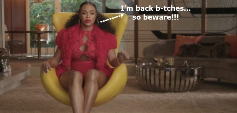 Masika Kalysha Is Back B-tches; Let The Drama Begin