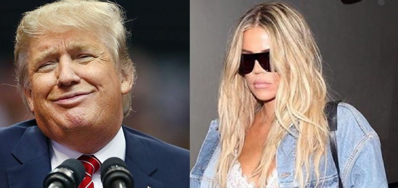 Khloe Kardashian CLAPS BACK at Trump Fat Piglet Remark