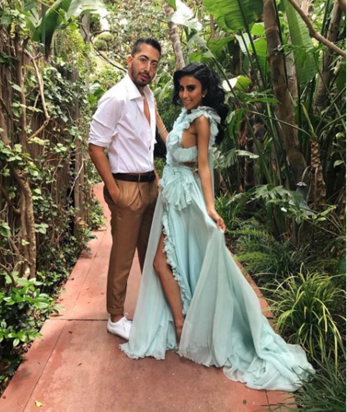 Lilly Ghalichi-wedding-5 - CelebNReality247
