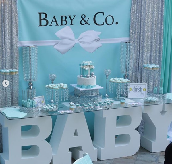 Lyrica Anderson + A1 Celebrate Their Baby Bentley Baby Shower