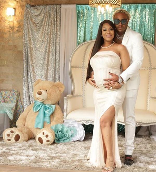 Lyrica Anderson + A1 Celebrate Their Baby Bentley Baby Shower
