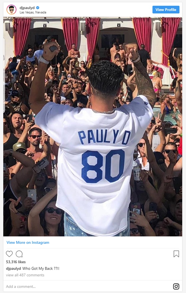 Pauly D Drops Half A Mill On Diamond Replica Of His Face
