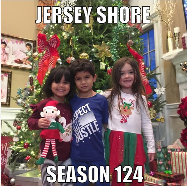 Merry Christmas From The Jersey Shore Family