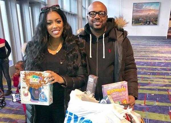 Merry Christmas: Porsha + Dennis Helping Kids with 4hosea