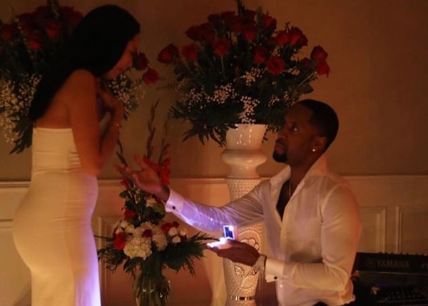 Safaree + Erica Mena Are Engaged