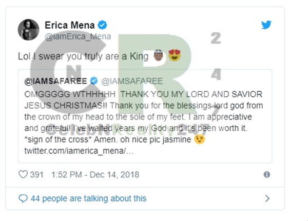 Erica Mena Refuses To Have Safaree Relationship on LHH