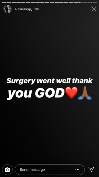 "Alexis Skyy ""Miracle Baby"" Undergoes Surgery; Please Pray"