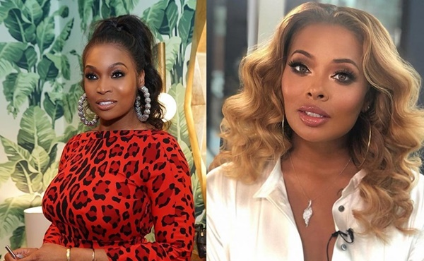 Atlanta Housewivis Marlo Hampton Calls Newly Wed Eva's A Scammer