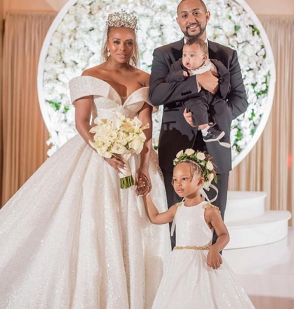 Michael Sterling Profess His Love to His Wife Eva Marcille