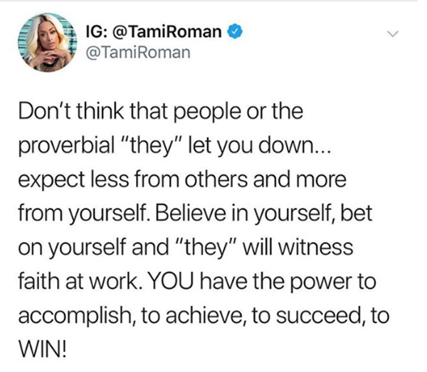Tami Roman Responds to Being FIRED from BBWs