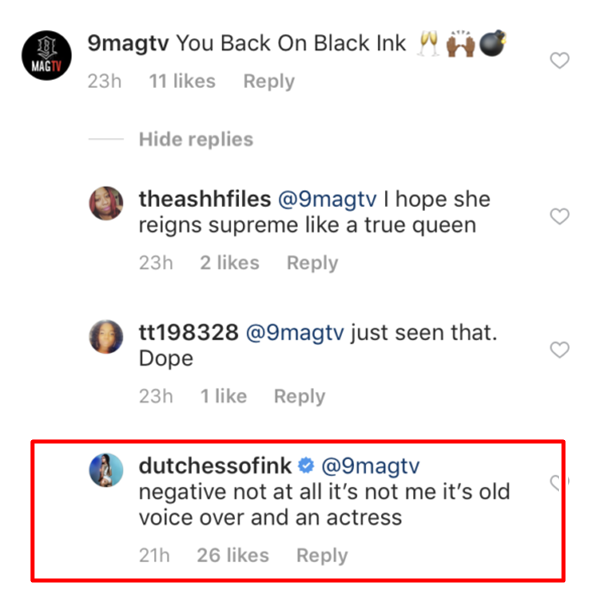 Dutchess: Deads Black Ink Crew Return; Series Made her Suicidal