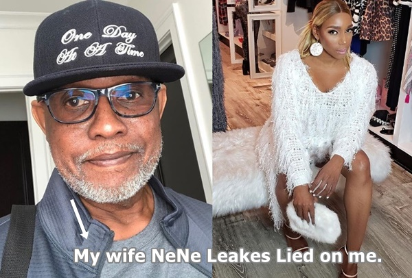 Gregg Leakes Calls Out NeNe Leakes For LYING About Him