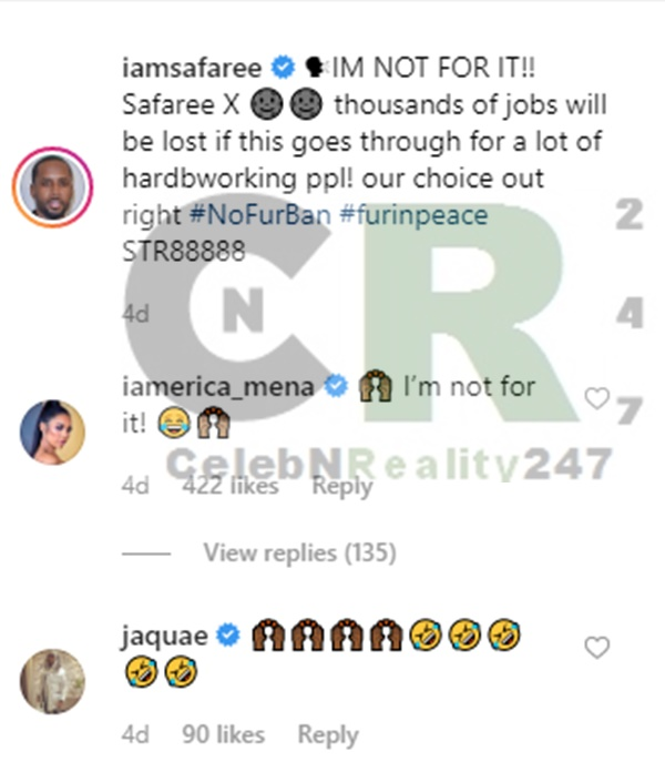 Erica Mena Defends Safaree Samuels: 'Get Off His Nuts'
