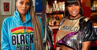 "Eva Marcille BLASTS Marlo Hampton For ""Gay Bashing"""