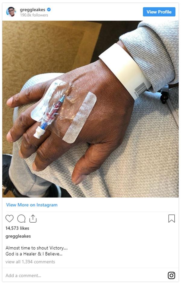 NeNe Leakes' Husband Gregg Leakes Asks For Prayers