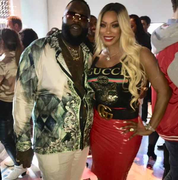 Pooh is friends with Rasheeda, Kirk, Mimi Faust, Erica Mena, and some Real Housewives. Not only that, she's linked to Rick Ross, 50 Cent and more because of her music mogul husband Hiriam Hicks.