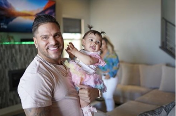 Ronnie Ortiz-Magro's Baby Is with His Family