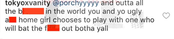 Tokyo Vanity Defends Boyfriend Rapper BC Jay
