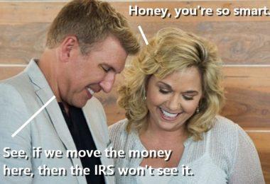 Todd Chrisley + Julie Surrender to FBI
