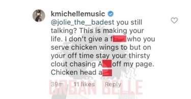 K. Michelle Goes Off ON Fan Disrespecting Her Man
