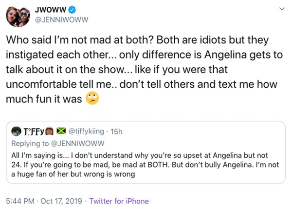 JWoww + Angelina Twitter Feud Ignites After Jersey Shore Family Vacation