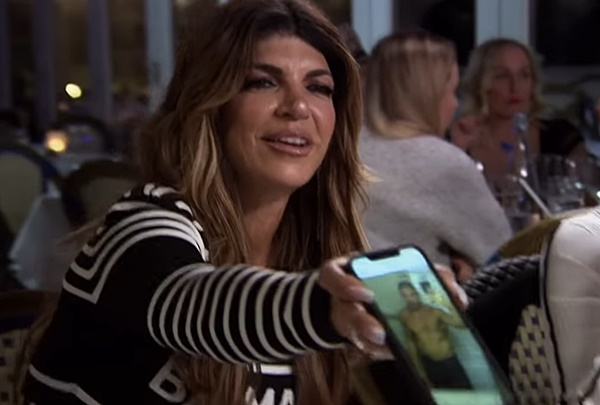 Teresa Giudice New Man Spotted on RHONJ