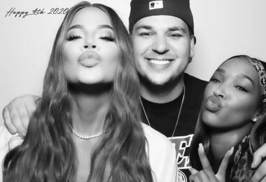 Khloe Kardashian Posts Pics From Tristan Thompson 4th Of July Party
