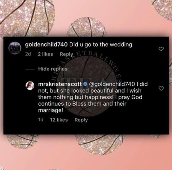 'Basketball Wives' Star Kristen Scott Speaks on Cece & Byron Scott's Wedding