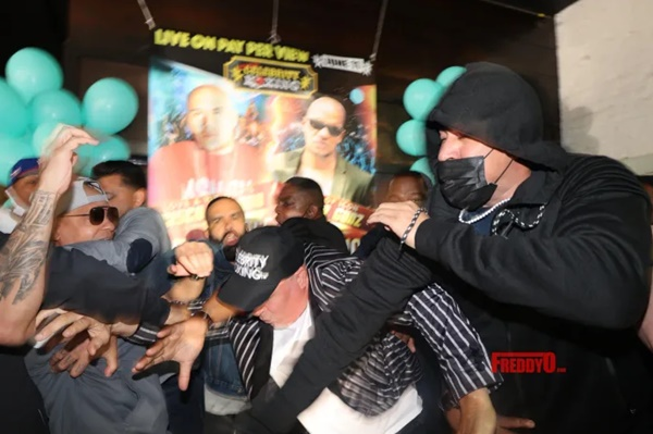 Peter Gunz and Cisco Rosado Caught Fist-Fighting