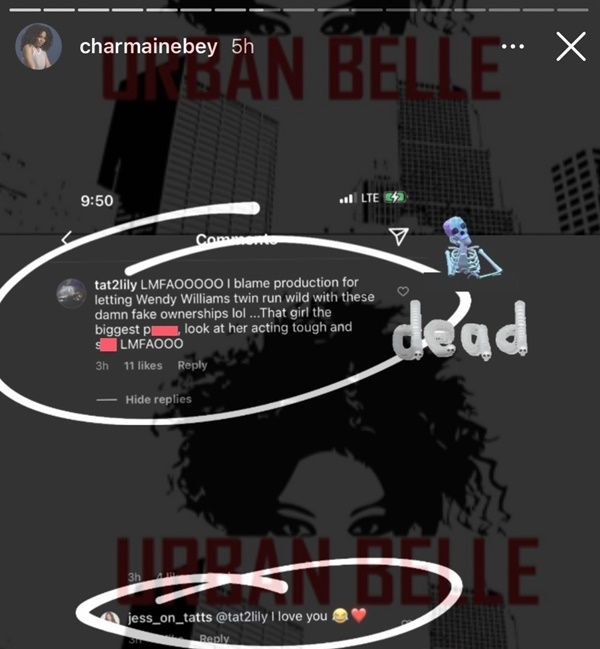 Ex-Black Ink Crew Chicago's Lily Still FIRING SHOTS At Charmaine